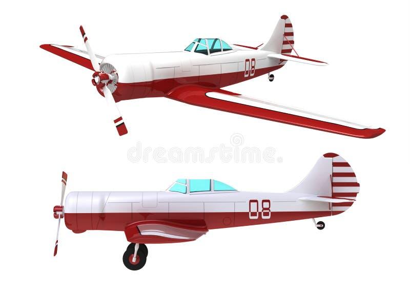 L'avion illustration de vecteur