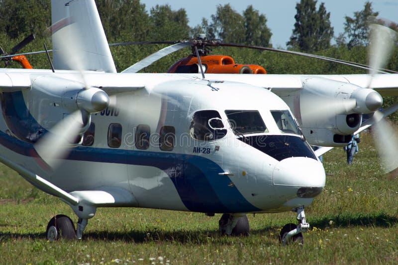 L'avion du Skydiver photos stock
