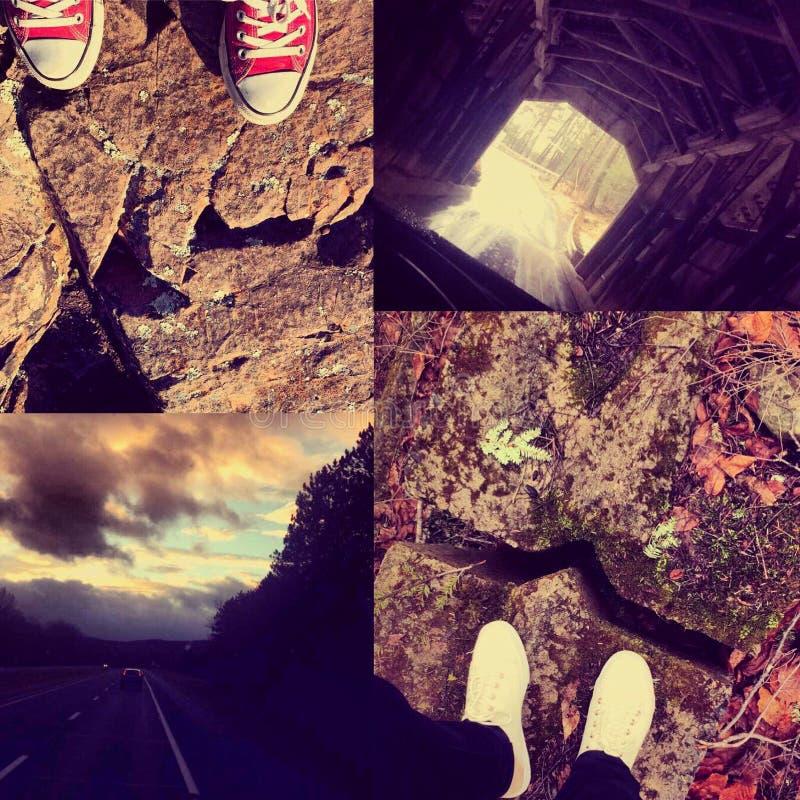 L'avventura è il modo fotografie stock