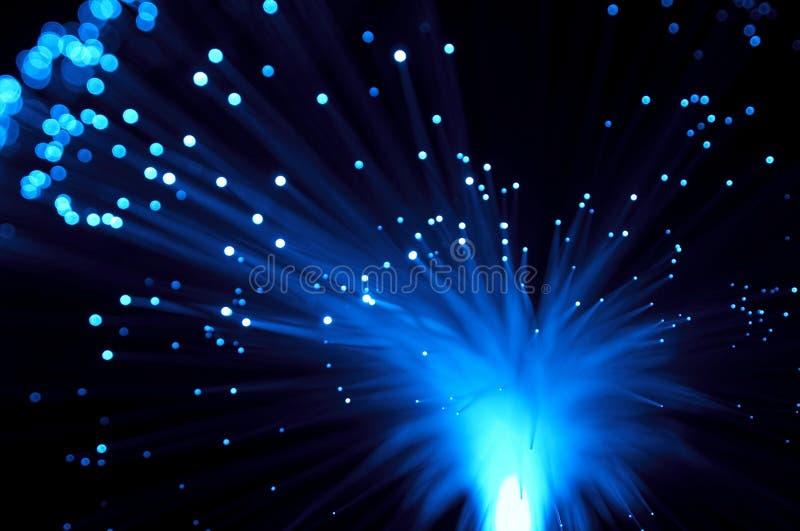 L'azzurro rays l'esplosione fotografie stock