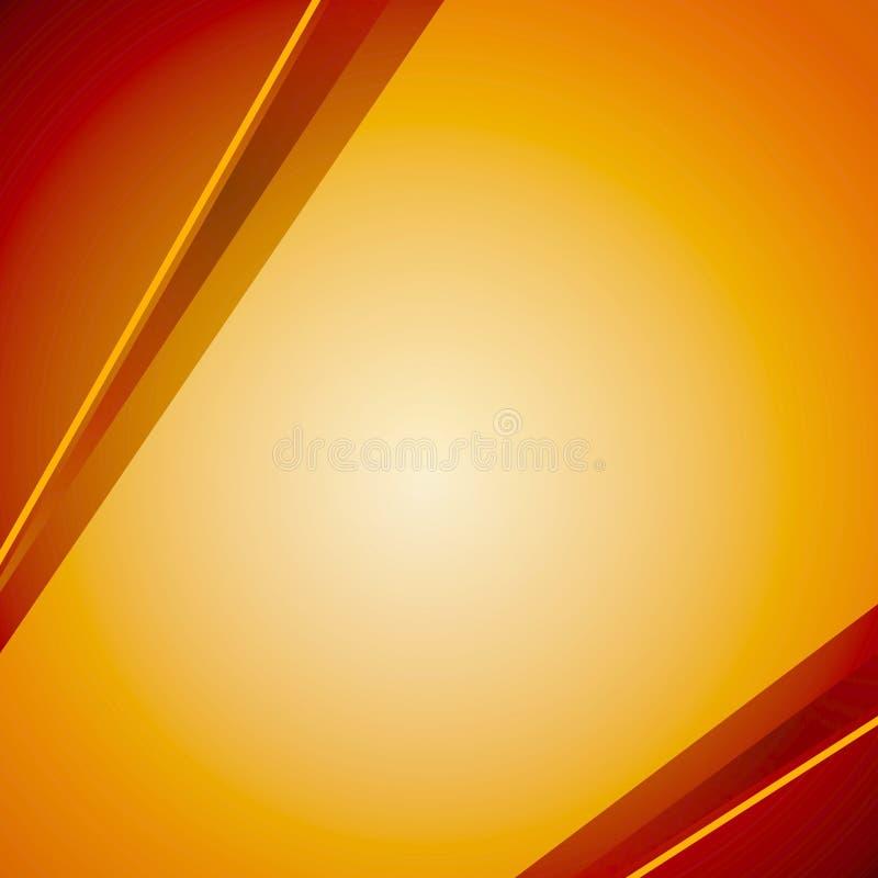 L'or barre la configuration de gradient illustration libre de droits