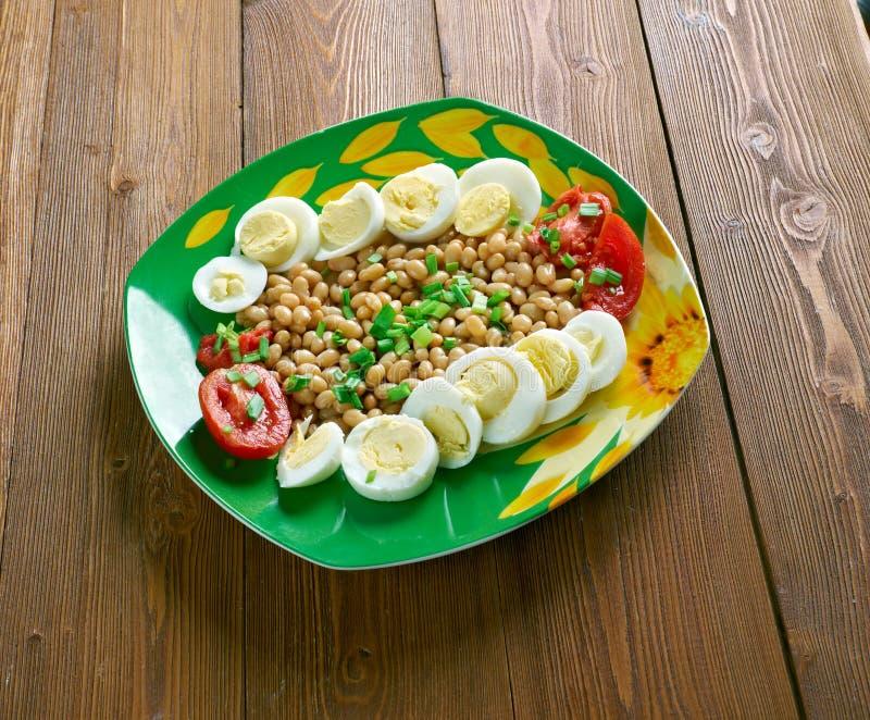 L Bean Salad royaltyfri fotografi