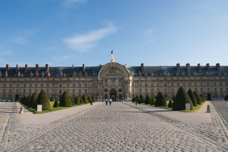 L DES nacional Invalides del hotel del ` parís francia fotos de archivo libres de regalías