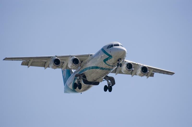 Lądowanie Jet Zdjęcia Royalty Free