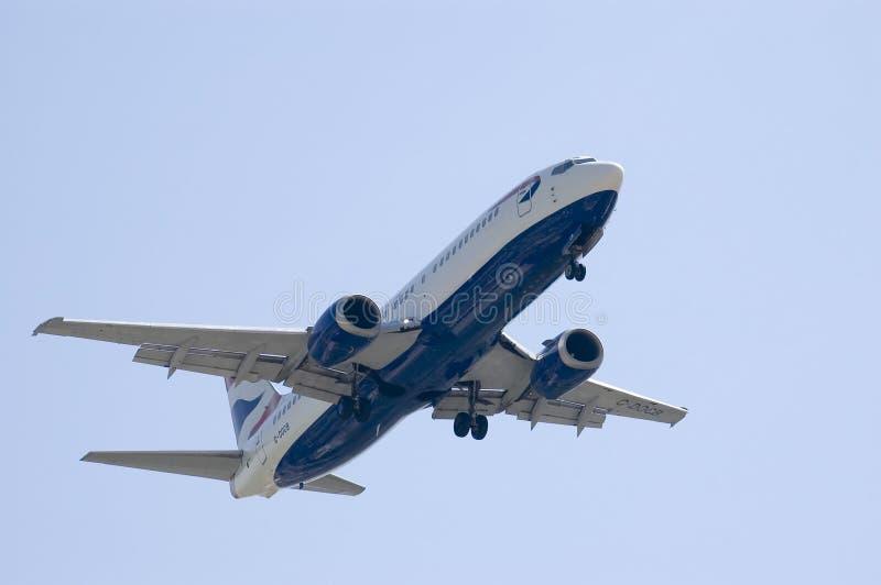 Lądowanie Jet Obrazy Stock
