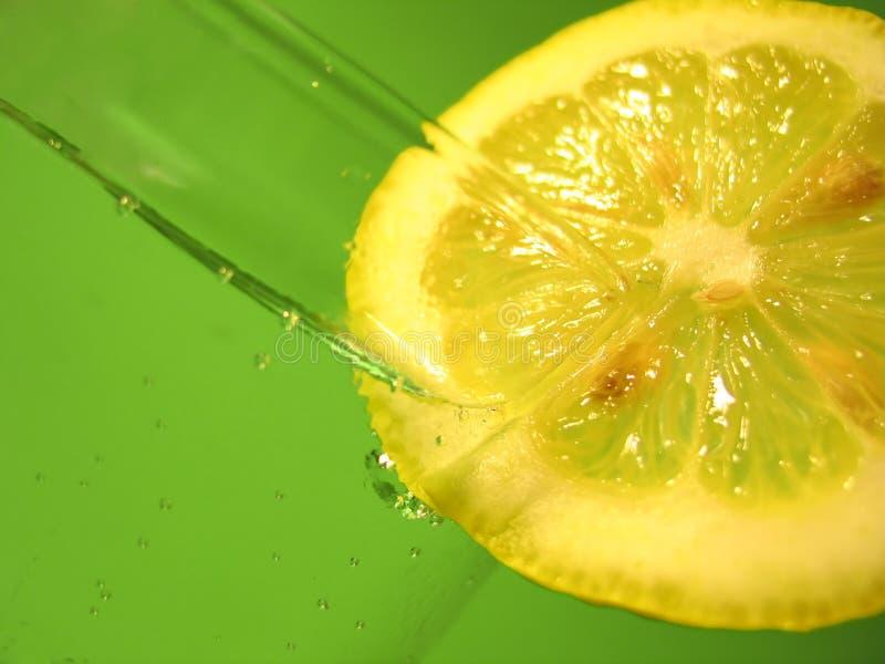 L'eau 3 de citron photos libres de droits