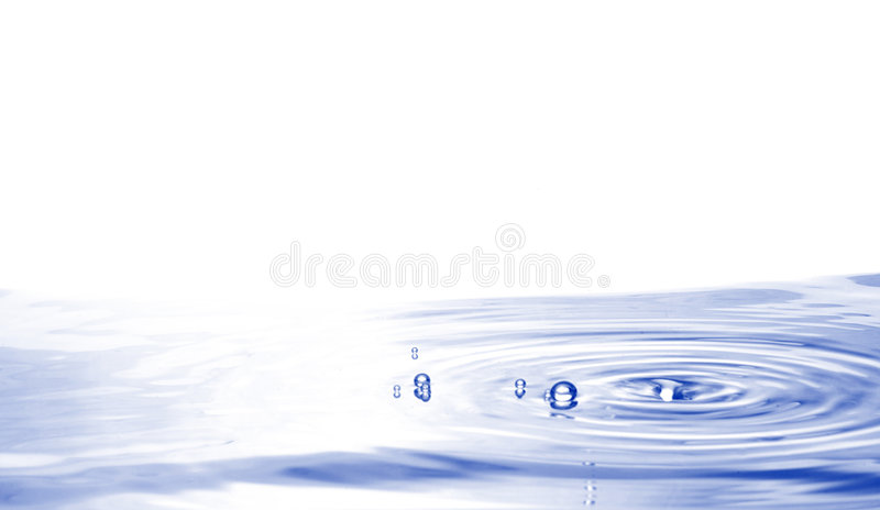 L'eau photo stock