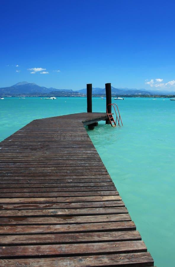 l'eau bleue photographie stock libre de droits