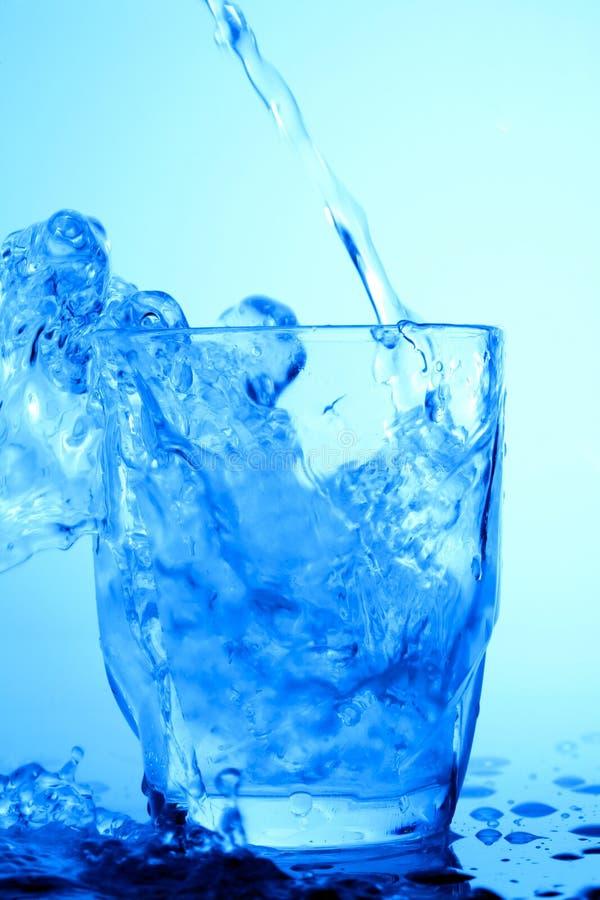 l'eau bleue images libres de droits