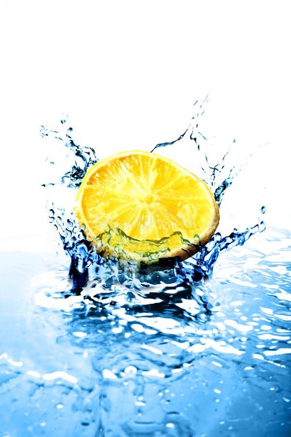 l'eau bleue images stock