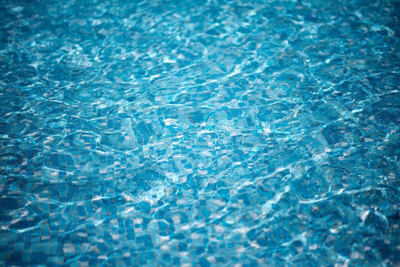 L'eau bleue pure dans le regroupement photos libres de droits
