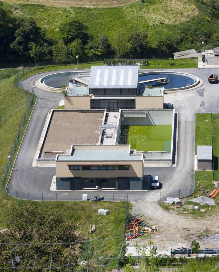 l'eau d'épurateur de centrale d'industrie de dessalement images stock