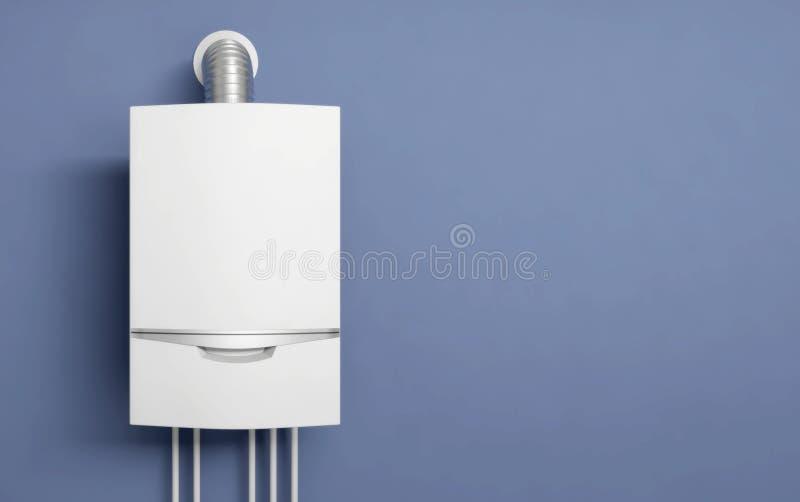L'eau 3D d'appareil de chauffage de gaz de chaudière illustration de vecteur