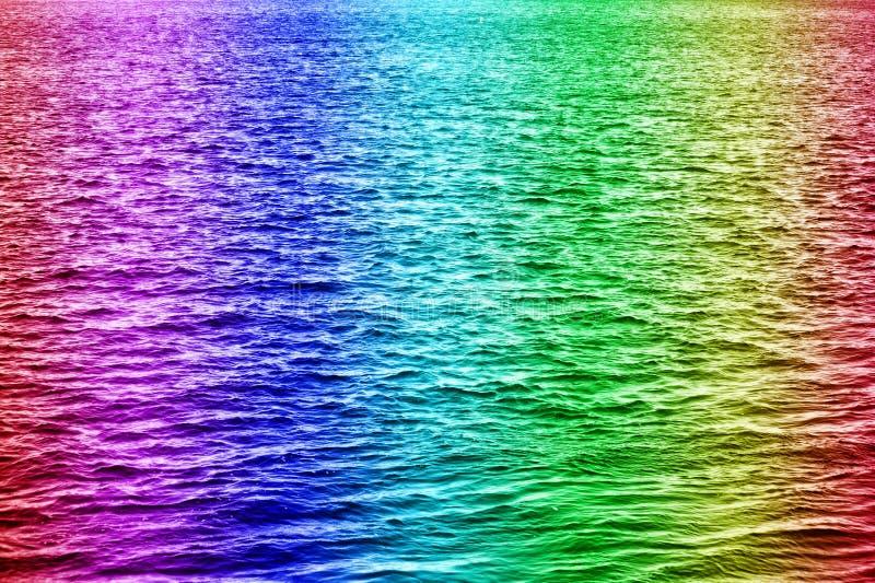 L'eau d'arc-en-ciel photographie stock libre de droits