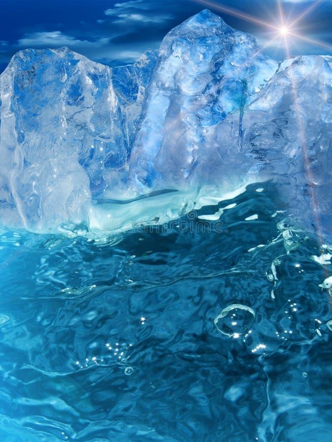 L'eau d'ondes photographie stock libre de droits