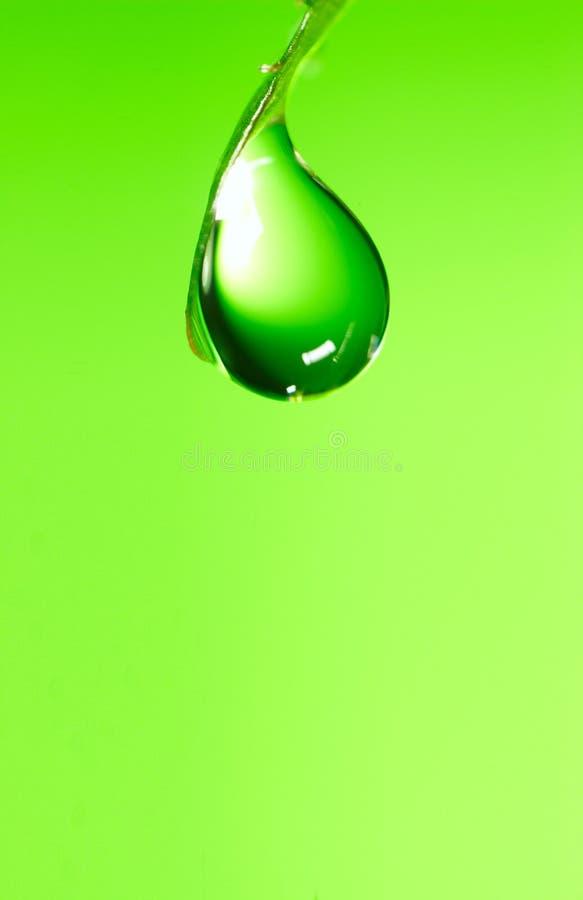 l'eau de baisse image stock