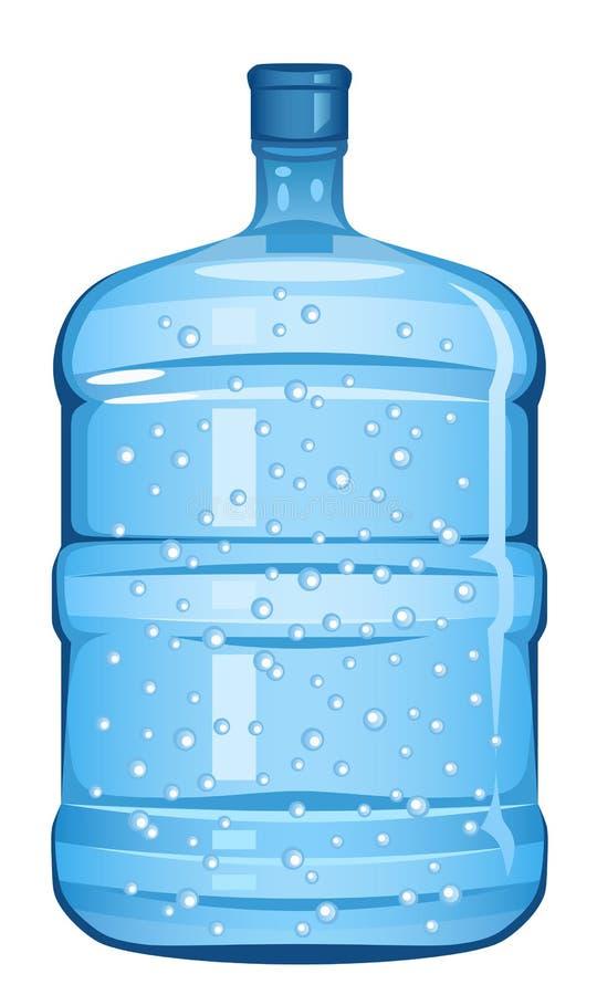 L'eau de bouteille illustration de vecteur