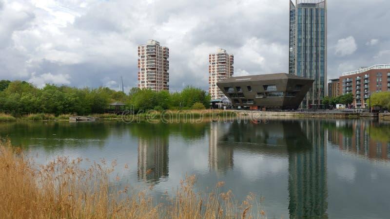 L'eau de Canada, Londres photos libres de droits