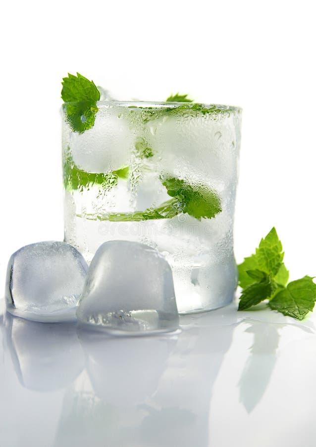 L'eau de glace photo stock