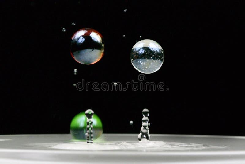 l'eau de marbres photographie stock libre de droits