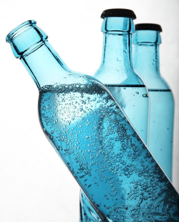 L'eau de pétillement photo libre de droits