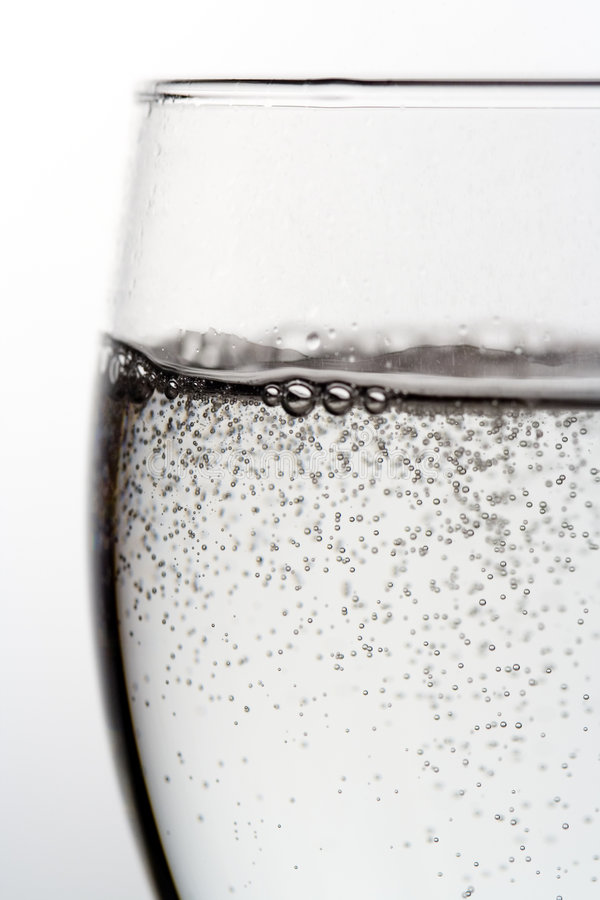 L'eau de pétillement photographie stock