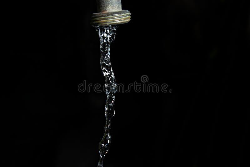 l'eau de robinet photographie stock libre de droits
