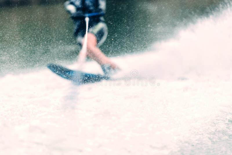 L'eau de ski d'eau image stock