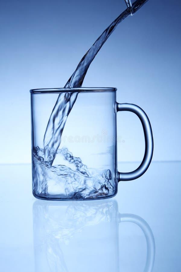 L'eau de versement photo libre de droits
