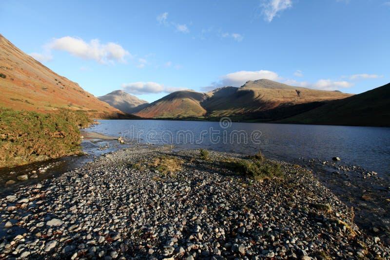 L'eau de Wast, Cumbria images stock