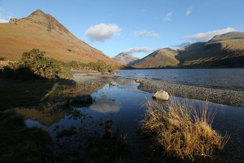 L'eau de Wast, Cumbria photographie stock libre de droits
