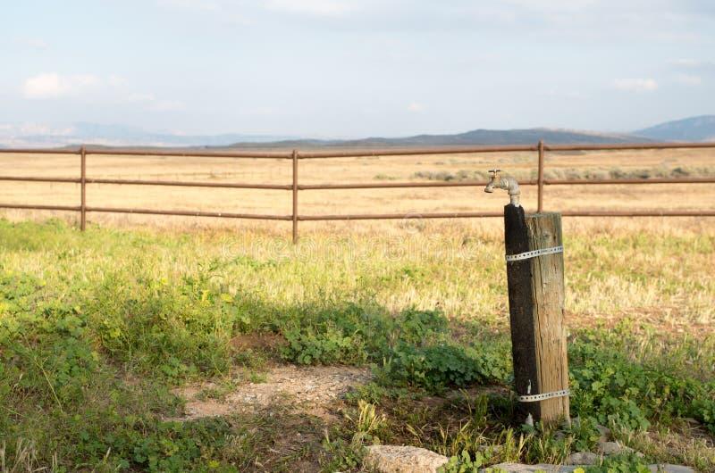 L'eau des plaines photographie stock libre de droits