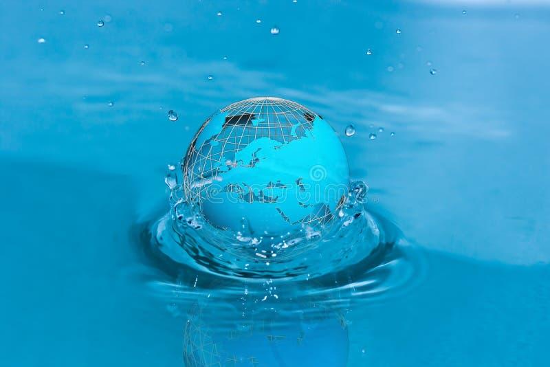 L'eau du monde image libre de droits