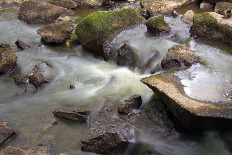 L'eau en baisse photographie stock