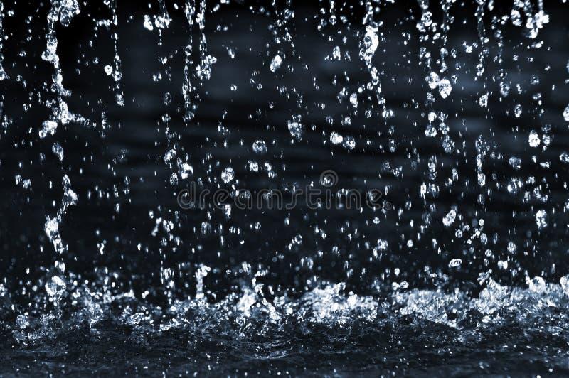 l'eau en baisse photographie stock libre de droits
