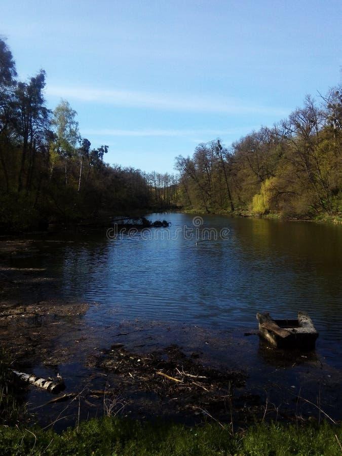 L'eau en parc image stock