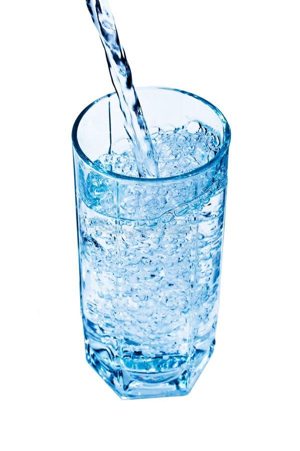 l'eau en verre images libres de droits