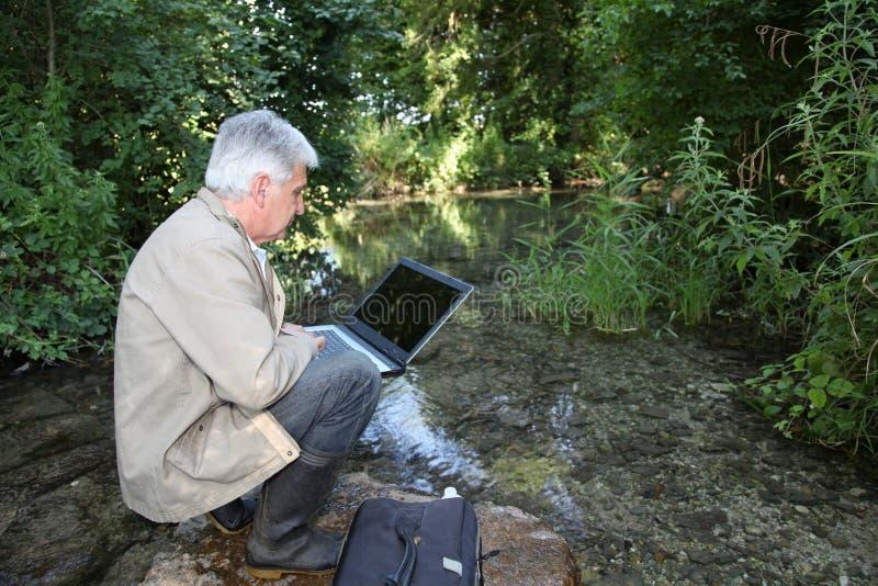 L'eau et environnement image libre de droits