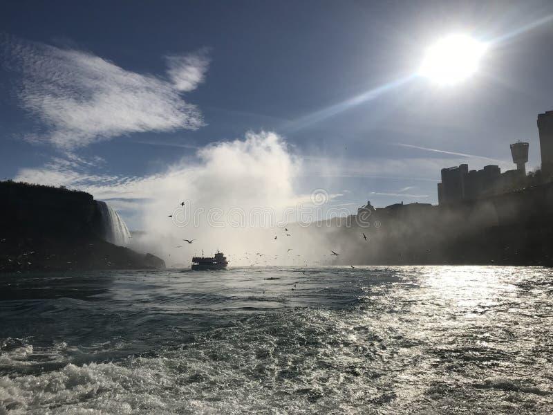 L'eau et le soleil images libres de droits
