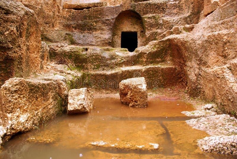 L'eau et roche photographie stock libre de droits