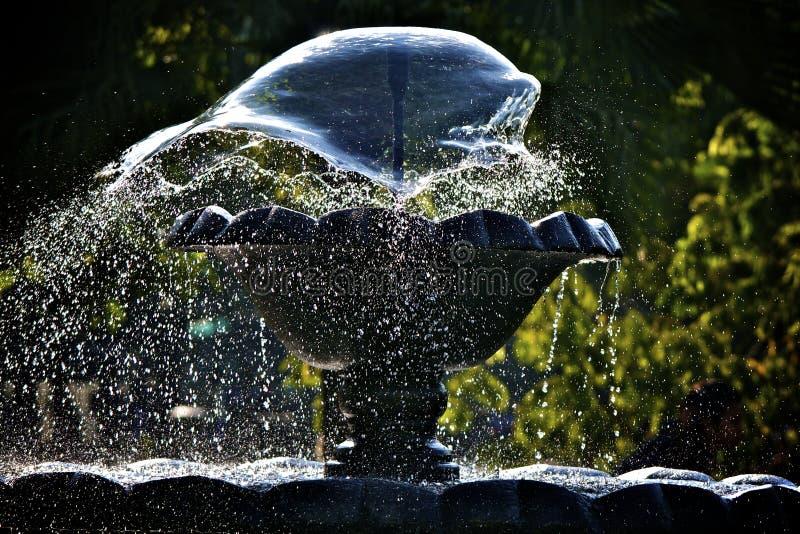 L'eau Freez de fontaine photographie stock