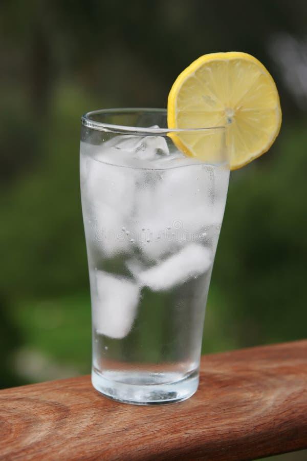 L'eau glacée image libre de droits