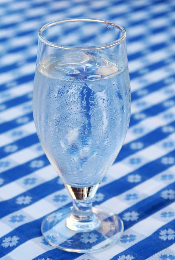 L'eau glacée photo stock