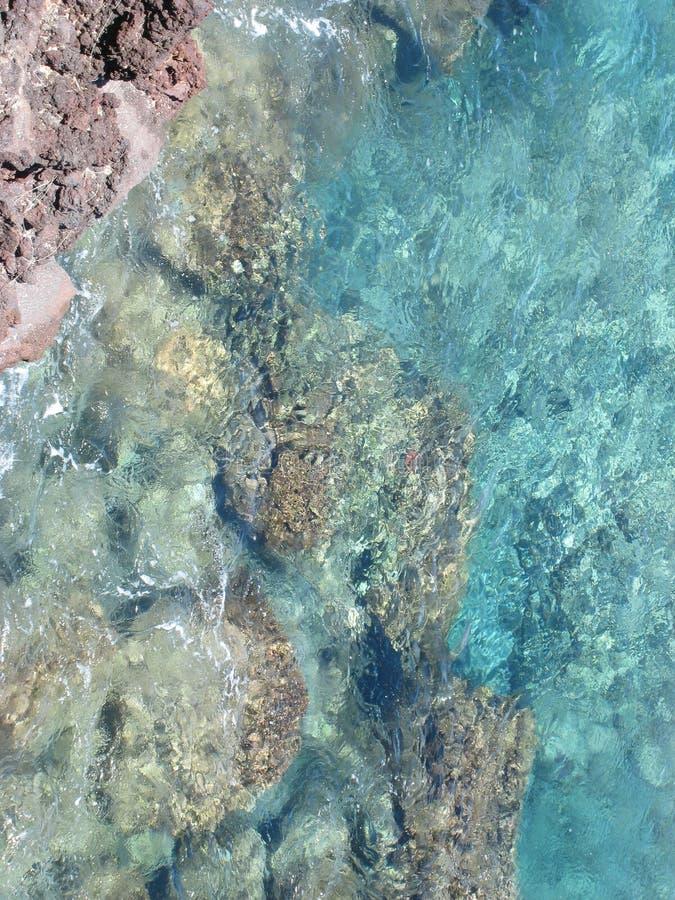 L'eau méridionale de point photos libres de droits