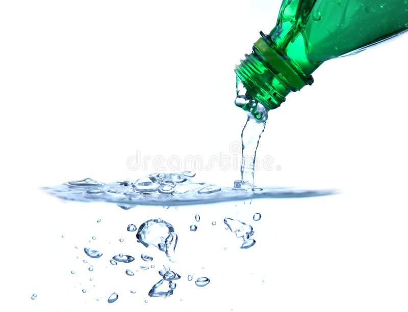 L'eau minérale photographie stock
