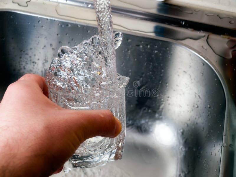 L'eau potable photos stock