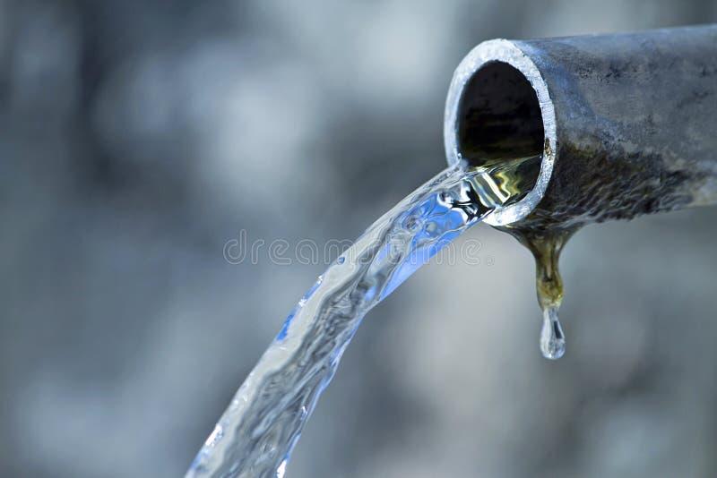 L'eau pure images libres de droits