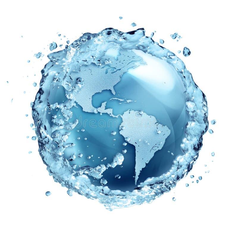 L'eau réutilisent en monde Etats-Unis image libre de droits