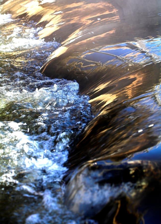 L'eau rapide. image stock