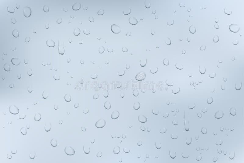 L'eau relâche le fond illustration libre de droits